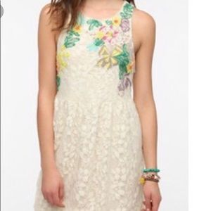 Kimchi Lace Embroidered Dress